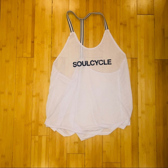 soulcycle Tops - SOUL CYCLE BURN OUT TANK TOP [XL]